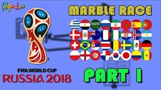 2018 Russia Marble Race World Cup - Part 1